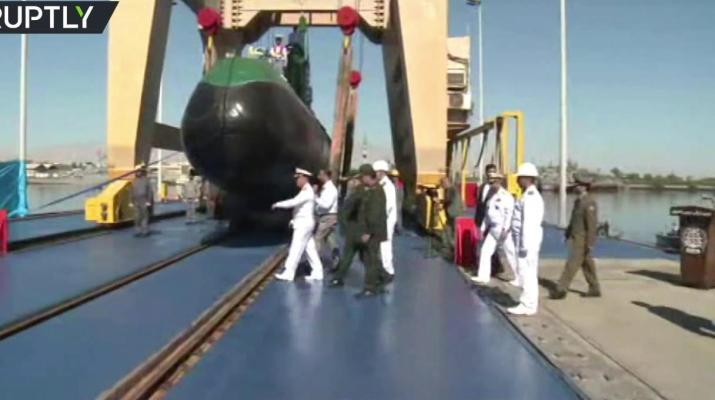 ifmat - Video - TV cartoon in Iran shows Ghadir sub sinking US aircraft carrier