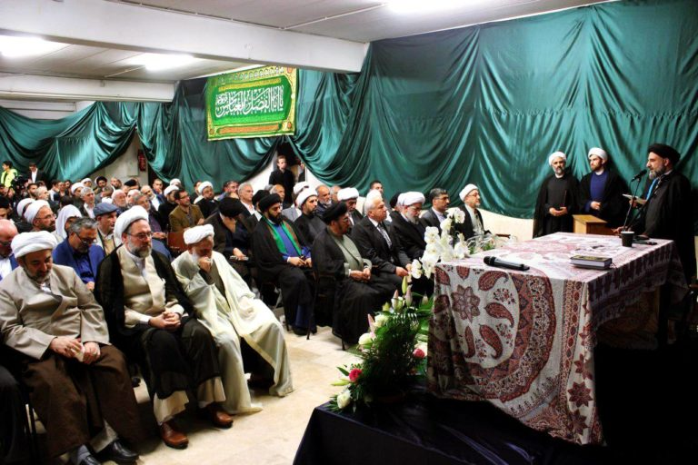 ifmat - A Religious ceremony at the Islamic Center in Hamburg