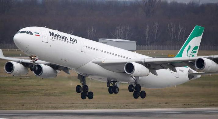 ifmat - France bans flights operated by Iran Mahan Air Airline that transported weapons and terrorists