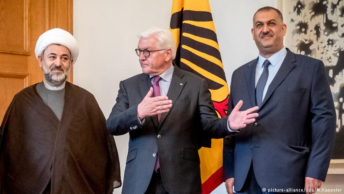 German president met with Islamic association of Shiite congregations in Germany