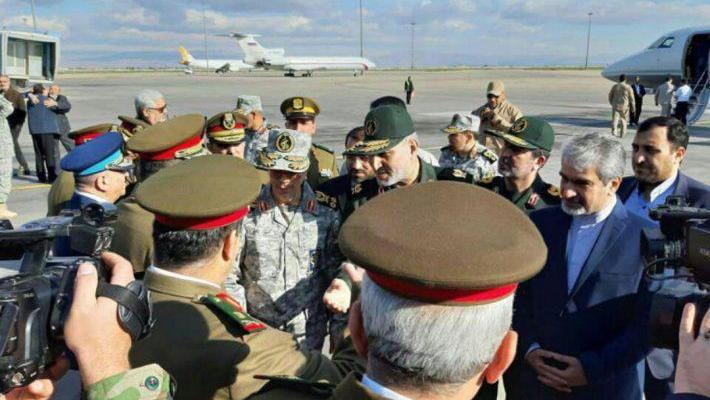 ifmat - Highest ranking Iranian commanders visit Syria
