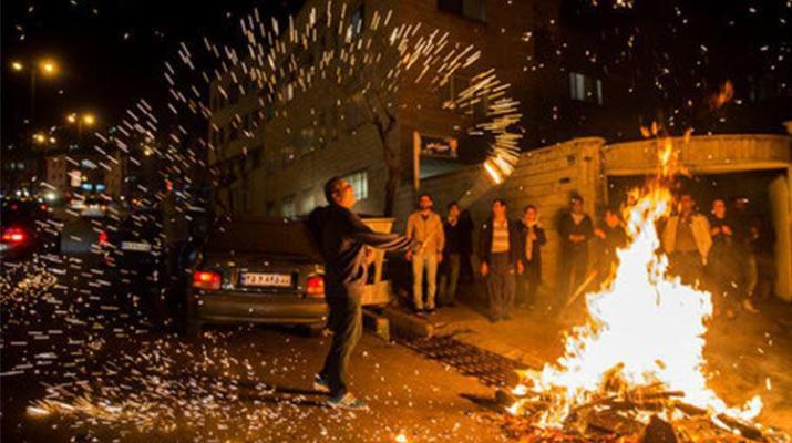 ifmat - Iran arrests 280 in fire festival intimidation campaign