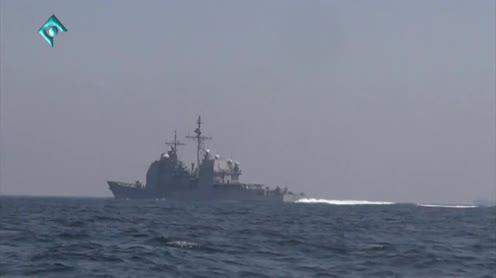 ifmat - Iran deploys large flotilla to important shipping corridor off Yemeni coast