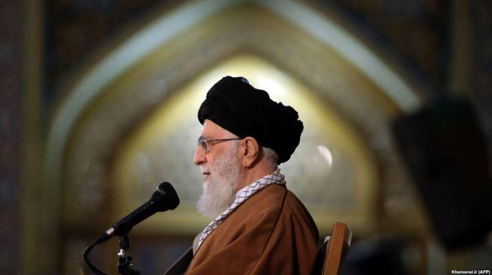 ifmat - Khamenei calls wester leaders savages in his New Year speech