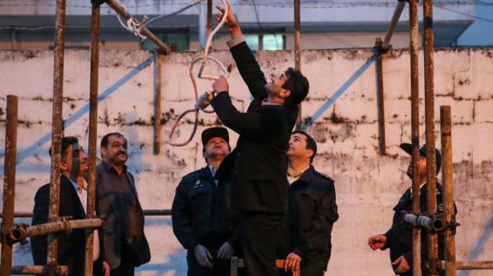 ifmat - Man hanged at Tabriz Central Prison in Iran