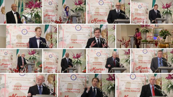 ifmat - NCRI New Year gathering calls for firm US policy on Iran Regime