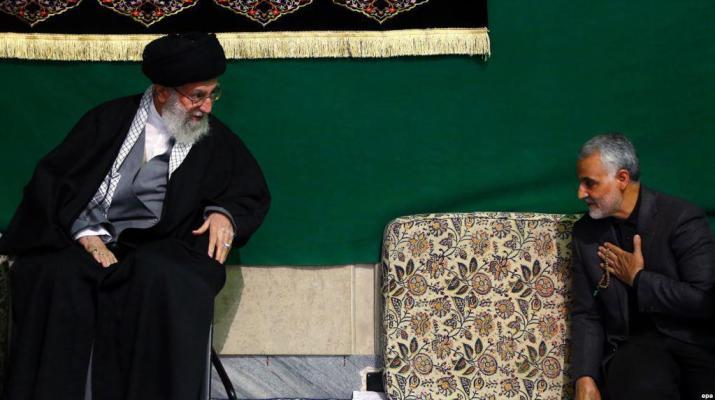 ifmat - Qassem Soleimani receives highest military medal from Khamenei