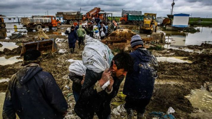 ifmat - The death toll of the flood is more than 200 people but the Iran Regime hides the real number in fear of people's anger