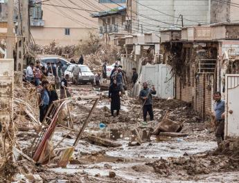 ifmat - Instead of helping victims in Iran floods, regime attacks them