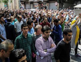ifmat - Iran regime suppresses protest using Iraqi militias
