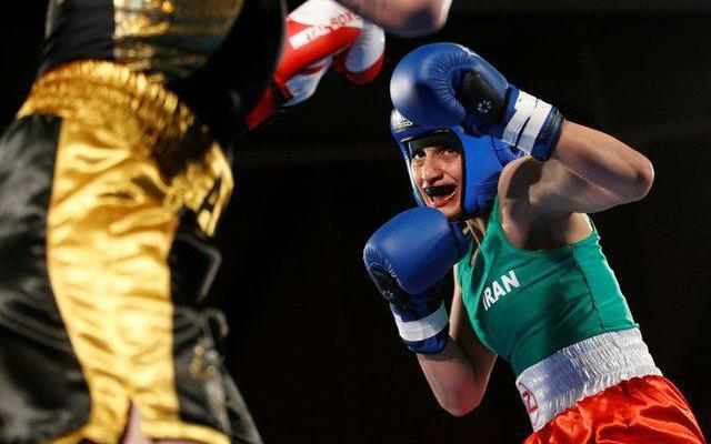 ifmat - Iranian female boxer cancels return home after arrest warrant issued