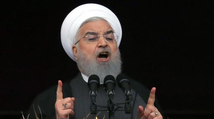 ifmat - Iranian president urges regional powers to unite against US