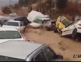 ifmat - Iranians blame regime for flood devastation