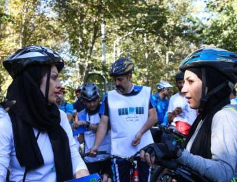 ifmat - Iran Regime bans cycling for women in public places