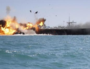 ifmat - Iranian Revolutionary Guard officials threaten to sink US naval vessels