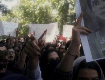 ifmat - Paramilitary force attacks Tehran university protest against Hijab