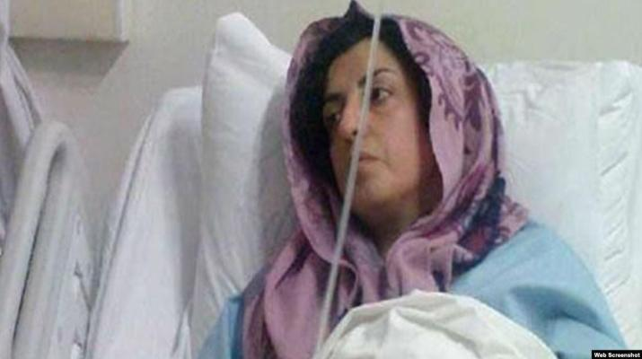 ifmat - Prominent political prisoner in Iran finally taken to hospital