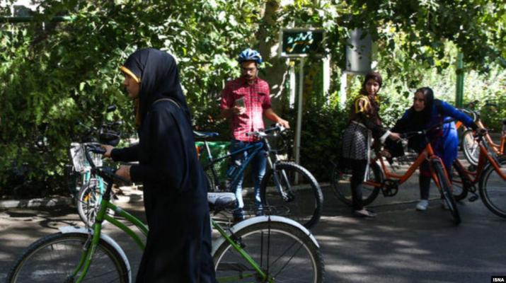 ifmat - Prosecutor of Isfahan in Iran banned women on bicycles