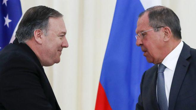 ifmat - US does not seek war with Iran says Mike Pompeo
