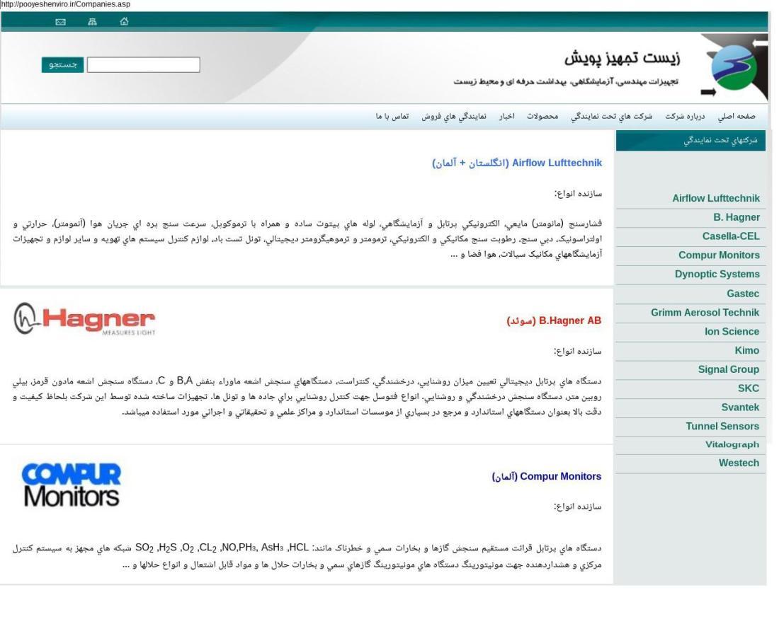 ifmat - Zist Tajhiz Pooyesh Company partners
