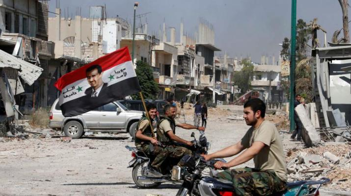 ifmat - Iran Regime is not leaving Syria
