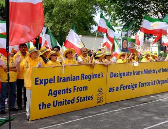 ifmat - Iranian-Americans rally in DC for regime change