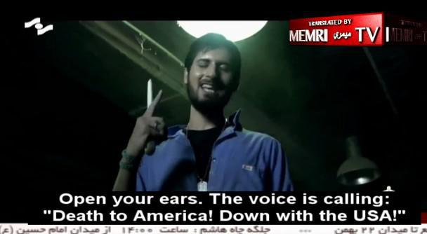 ifmat - Iranian music video titled Death is too small a punishment for America