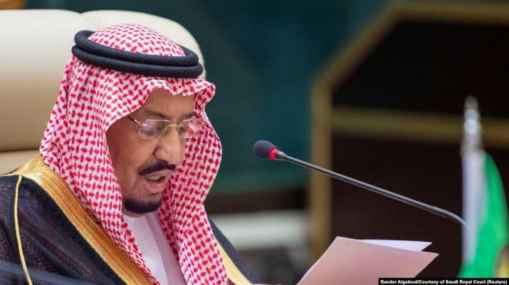 ifmat - King Salman says Iran supports terrorist militias
