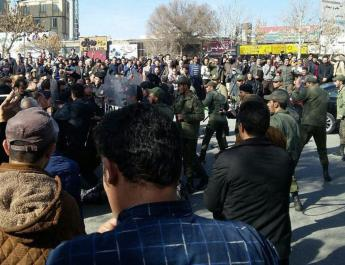 ifmat - Uprising in January 2018 Iran Regime arrested over 4600 young people