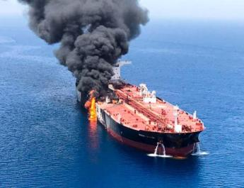 ifmat - Video of Iranian military removing unexploded mine from Gulf tanker