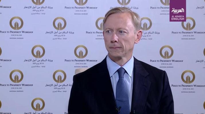 ifmat - Brian Hook says Iranian sanctions are working