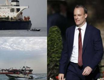 ifmat - British foreign secretary rules out tanker exchange
