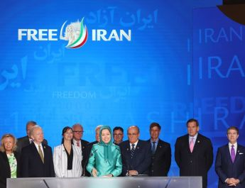 ifmat - Maryam Rajavi tells MEKs Free Iran rally Resistance will be victorious