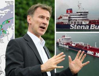 ifmat - UK calls Iran seziure of tanker act of state piracy