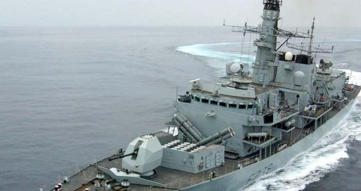 ifmat - UK warship commander says Iran trying to test Britain in Gulf