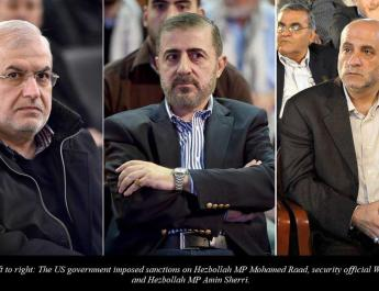 ifmat - US imposes sanctions on Hezbollah officials accused of supporting Iranian terrorist regime