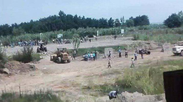 ifmat - Iranian army force kills civilians in dispute over land
