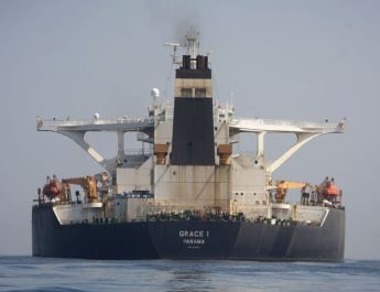ifmat - Iranian oil tanker allowed to leave Gibralter despite US appeal