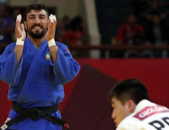 ifmat - Medalist gives up judo as Iran forbids competition with Israelis