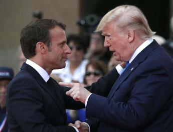 ifmat - Trump criticizes Macron for sending mixed signals to Iran