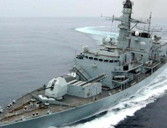 ifmat - British warship in 115 confrontations with Iran