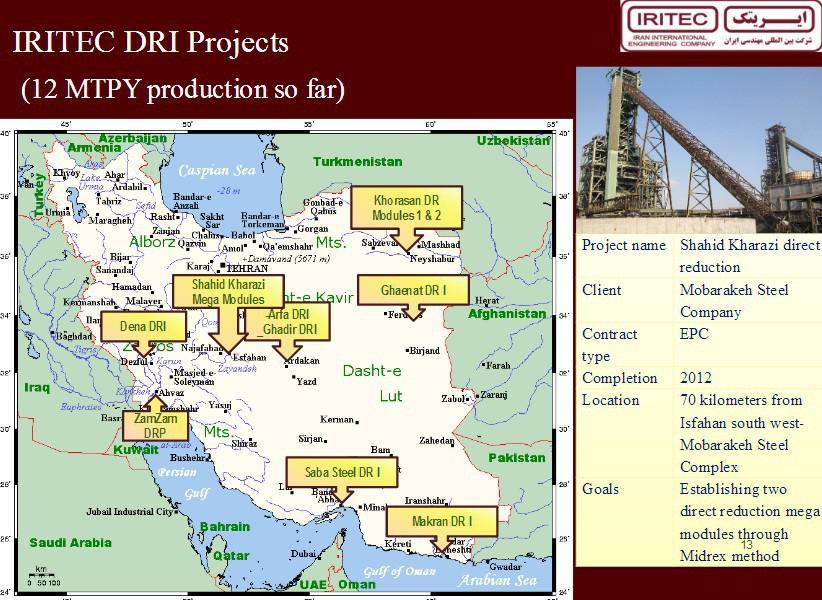 ifmat - IRITEC DRI projects