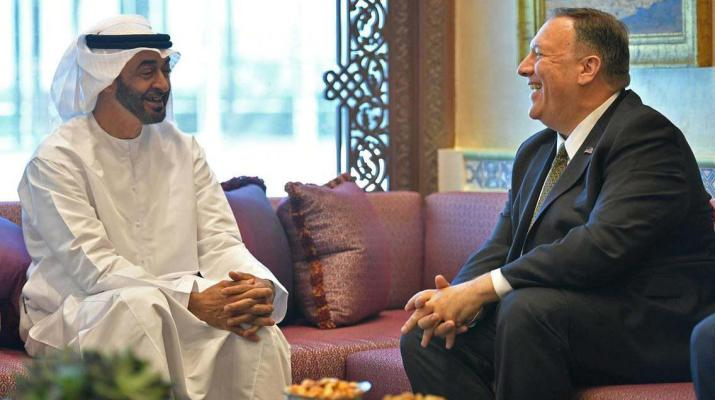 ifmat - Mike Pompeo on UAE visit says new sanctions will be imposed on Iran