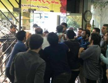 ifmat - Regime supporters attack independent students in Iran university