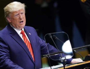 ifmat - Trump calls Iran regime a repressive security threat