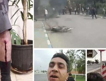 ifmat - Iran police beat and arrest AzarAb workers in peaceful protest