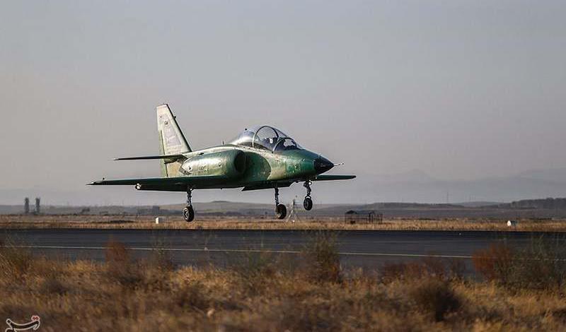 Iran unveils first homegrown combat jet trainer
