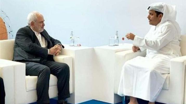 ifmat - Iranian and Qatari top diplomats discuss closer ties