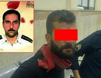 ifmat - Man hanged in public in Rasht