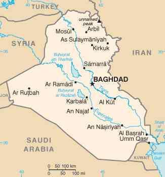 Protestors in Iraq point fingers at Iran